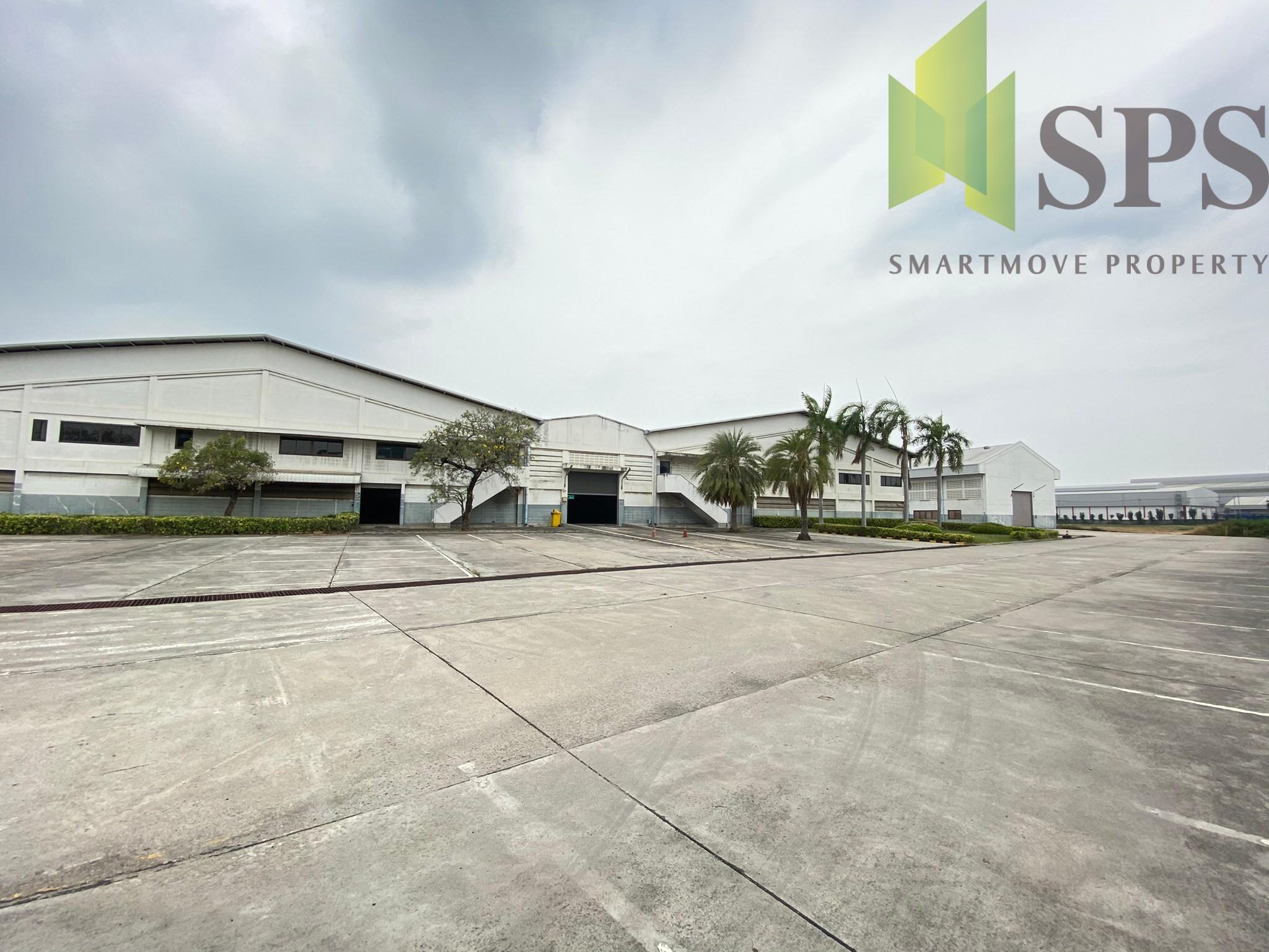 Factory/Warehouse with Office for RENT at Bangna-Trad Road KM.23/ โรงงาน, โกดัง พร้อมสำนักงาน สำหรับเช่า ที่ บางนา ตราด กม 23(Property ID: SPS-PPW164)