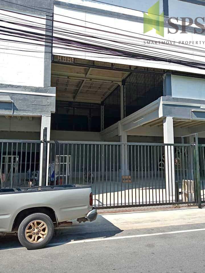 Warehouse Factory โรงงาน โกดัง (สีส้ม) ทรัพย์บุญชัย (SPS-GW851)
