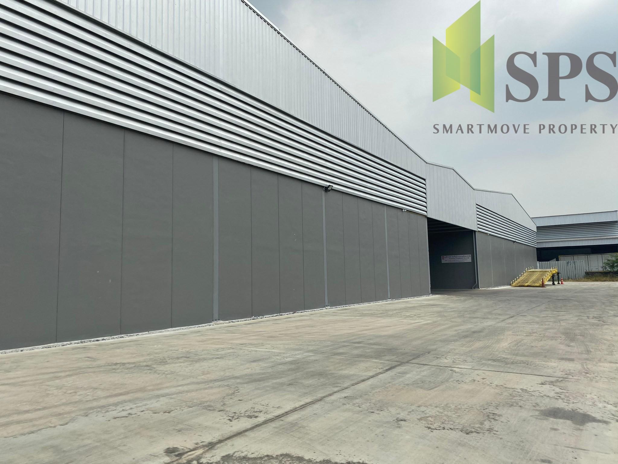 Factory/Warehouse for RENT at Samrong Klang, Phra Pradaeng District, Samut Prakan/ โรงงาน /โกดัง สำหรับเช่า ที่ สำโรงกลาง พระประแดง สมุทรปราการ(Property ID: SPS-PPW166)