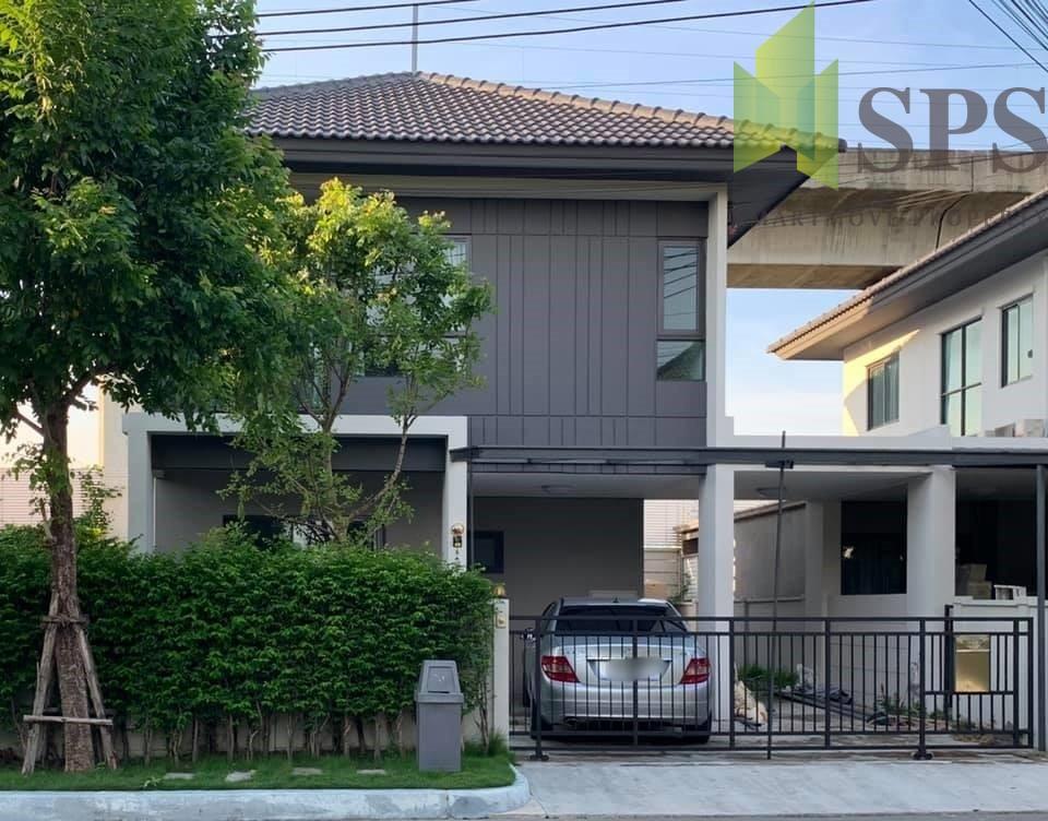 บ้านเดี่ยว บ้านกลางเมือง The Edition พระราม 9 – อ่อนนุช Detached houseBaan Klang Muang The Edition Rama 9 – On Nut (SPS-GH1036)