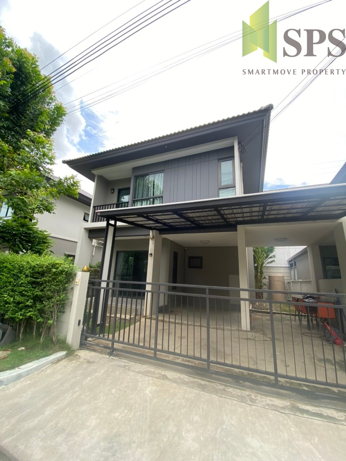 Detached house The Edition พระราม 9 – อ่อนนุช Detached houseBaan Klang Muang The Edition Rama 9 – On Nut (SPS-GH1154)